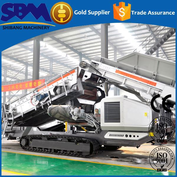 High safety mobile crushing and mining equipment manufacturer