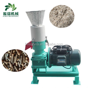 flat die pellet mill/wood pellet making machine price/sawdust pellet machine