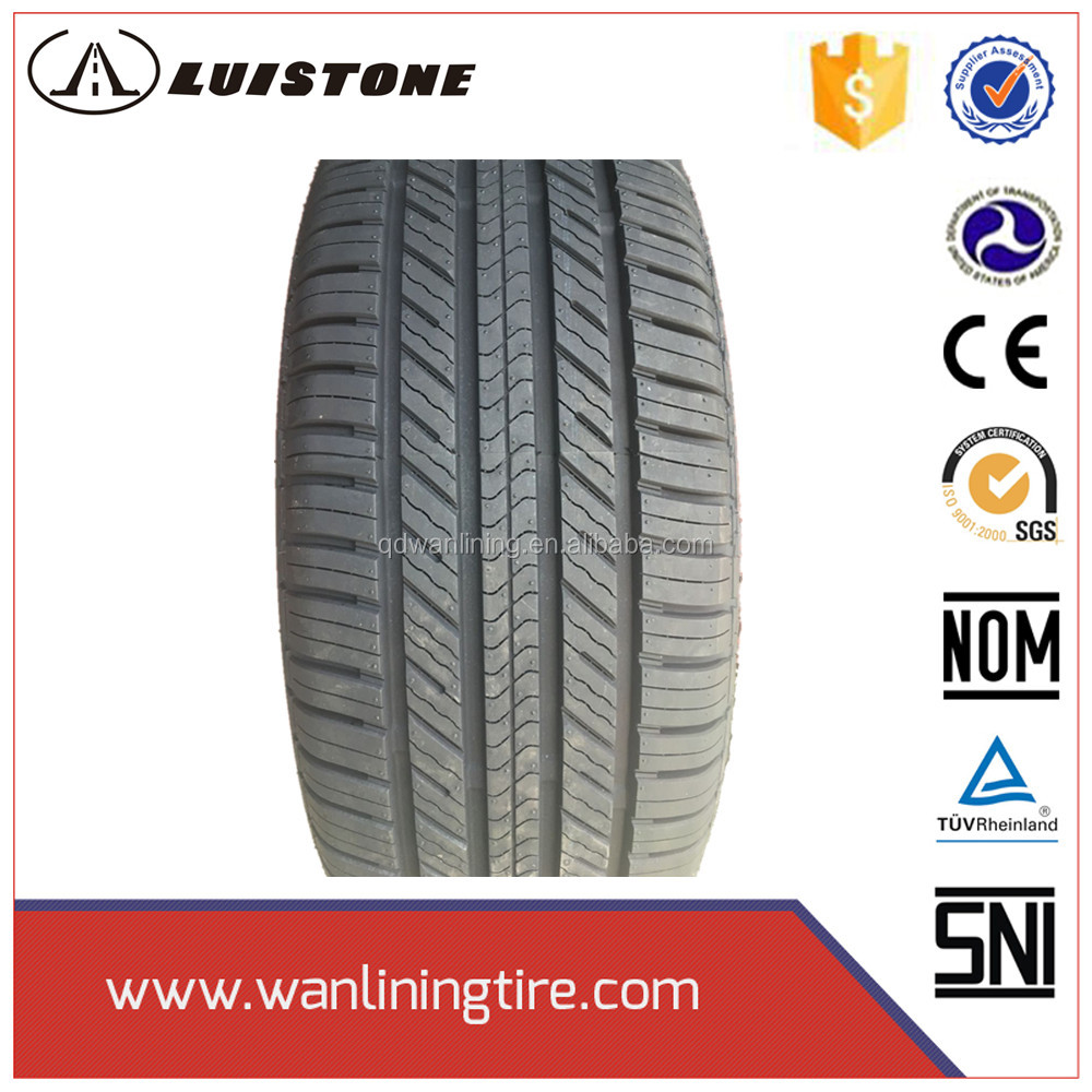 Semi-steel radial 245 65 17 cheap car tyres new european labeling