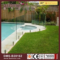small pool/balcony glass handrail fence price