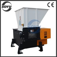 Plastic shredder for hard plastic