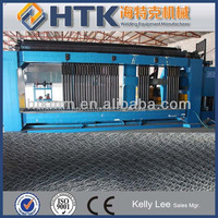 Made in China HTK Factory Gabion Mesh Machine(PLC Controller HMI screen) with best price