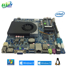 Intel Haswell 4th Gen Mainboard with DDR3L Thin Mute Fan DC12V Power Supply Mini ITX Funtion QM9400
