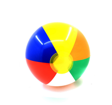 Custom PVC Colorful Inflatable Giant Rainbow Beach Ball Pool Toys for Wholesale