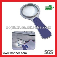 custom high quality led light reading magnifying glass