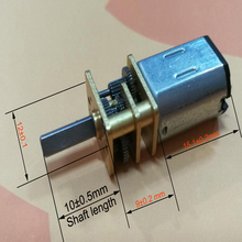 Wholesale Silent Noise High Torque Small Hobby Electric DC Gear Motors for Bicycle@