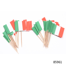 Decorative Bamboo Toothpicks Cocktail Flags Toothpicks for Party