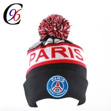 100% acrylic Custom knitted winter warm hat beanies