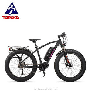 High quality oem odm 26 inch electric fat tire bike snow bicycle e bike