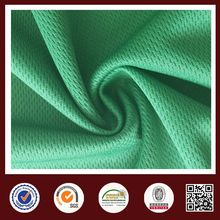 Feiemi 100%poly mesh 100 polyester basketball wear knitted fabric