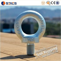 China factory carbon steel forged lifting large din 580 eye bolt