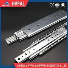 Heavy duty concealed furniture drawer slides rail guide with clips
