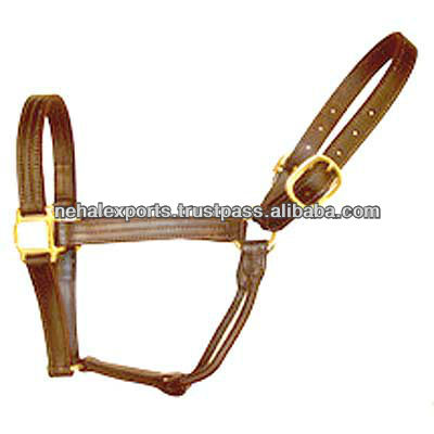 English leather Halter