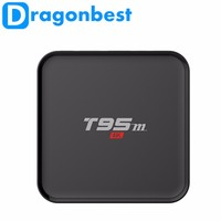 New Hot 2016 S905 tv box set top box receiver support 4K Output t95m box for customization