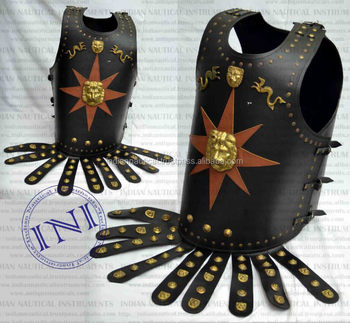 Leather King Jacket, Medieval Leather Armour Jacket, Gift Armour Jacket