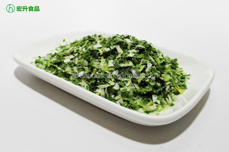 Fresh Air Dried Dehydrated Chive Flakes Green Onion Flake