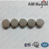 new design Nickel plating D8x3mm strong neodymium neo magnet