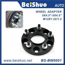 Thailand wheel adaptor PCD 5X114.3 25.4mm thick CNC forged Universal Wheel Spacers 5 lug rim adaptor