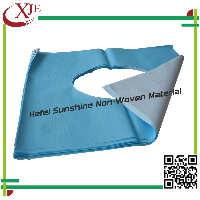 Custom Made Disposable Hygienic Paper Toilet Seat Cover Recycle And Virgin Wooden Paper