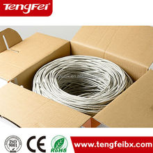 305m/roll ROHS Fluke Test 4 Pairs Copper Conductor UTP FTP SFTP Cat5e cat6 Network Cable Lan Cable