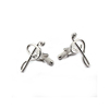 Wholesale novelty fashion music cufflinks findings