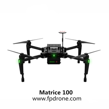 2018 hot sale stable flexible and powerful professional drone Matrice 100 on with hd camera and gps and with wifi camera M100