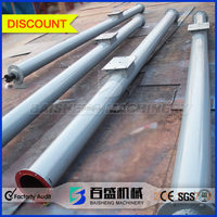 Ce approved Sawdust / grain / powder Screw feeding / discharging conveyor for sale