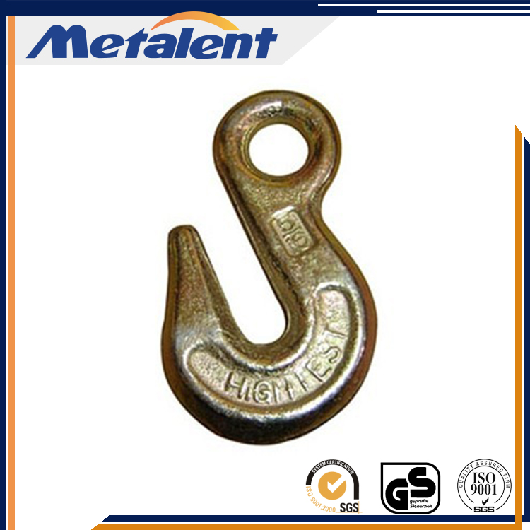 Drop forged clevis hook rigging hardware galvanized clevis slip hook