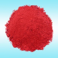 Porcelain glazing pigment powder Iron oxide red