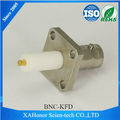 RF coaxial cable connector bnc female panle mount for RG55