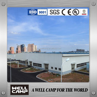 CE Standard Fast Install Prefabricated Steel Structure Building For Warehouse Workshop
