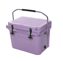 New style plastic pinnacle blood transport cooler box