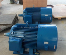 400kw 500kw 150rpm Low Rpm Vertical Permanent Magnet Hydro Electric Generator/water power generator