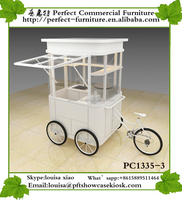 mobile street food vending carts for sale cargo tricycle with front cabin used food trucks