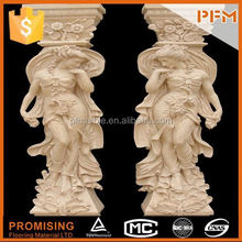 hot sale natural well polished marble made hand carved stone eagle