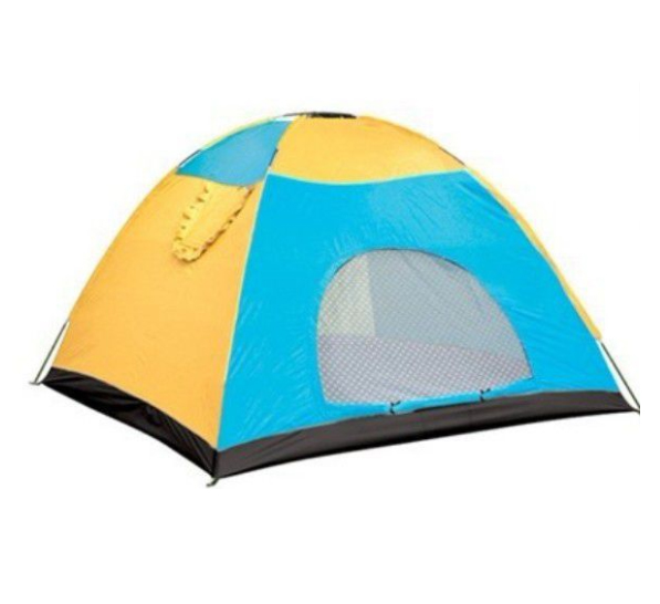 Large space 6-10 people double layer hand build camping tent with single door or double doors ultra light tent