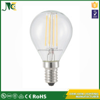 Color uniformity glass 4w led replacement bulb