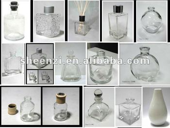 50ml,100ml,200ml Clear diffuser bottle/reed diffuser bottle/diffuser oil bottle with stock