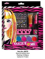Professional glitter nail Salon makeup kit girl cosmetic