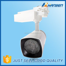 360 rotatable 35w led track spot light 2/3/4 wires for commercial center