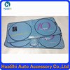 Folded car sun shade window film advertising car sun shade solar window film