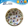 White christmas deep christmas plastic lunch food charger melamine serving tray