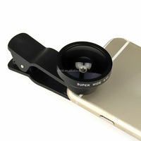 import mobile phone accessories 0.4X wide lens with clip for all smart phones and Tablet PCs