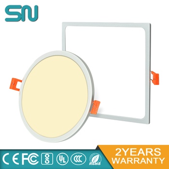 Best price Ultra thin slim ceiling light 5w 8w 16w 22w 30w Narrow Edge led panel Round With High lumens