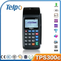 Telpo Solution Provider TPS300C Mobile GPRS POS Software for Prepaid Recharge, Bill Payment