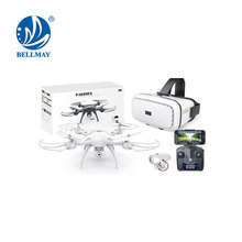 2.4 GHz Height Hold Hovering RC Hexacopter FPV with VR 3D Intelligent Glasses & Wifi HD Camera