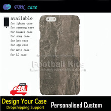 Low Price china mobile phone brown marble case for IPhone 6/6 plus.2016 cheapest phone case for iphone 6 6 plus