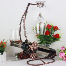 Tall Drink Animal Tabletop Single Wine Bottle Holder