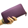 Womens Pouch Purses and Handbags, Travel Leather Zipper Wallet Pouch Bag Wholesale