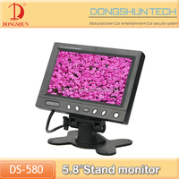"DS-580 5.8"" car stand alone monitor / Car in dash LCD monitor with stand"